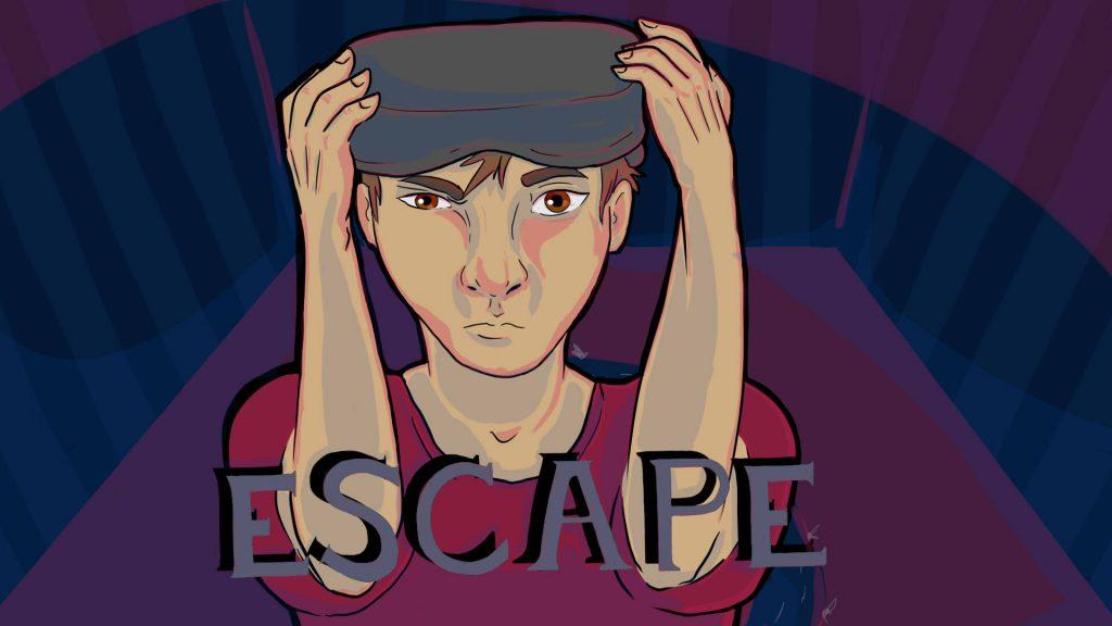 escape title screen